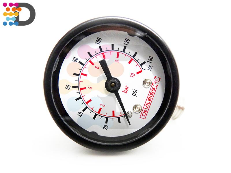 Regulator wskazówkowy, reduktor ciśnienia, manometr DEVILBISS
